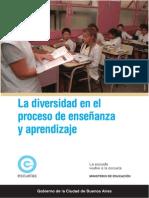 La Diversidad en El Proceso de Enseñanza y a Prendizaje. Koppel, A y Tomé, J. M. G.C.B.a.