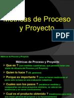 Metricas de proceso y proyecto