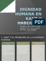 Dignidad Humana en Kant y Habermas