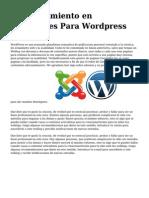 <h1>posicionamiento en buscadores Para Wordpress</h1>