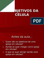 Objetivos Da Célula