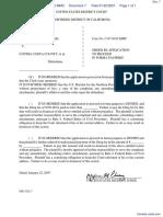 Johnson v. Contra Costa County - Document No. 7