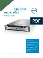 Máy Chủ Trung Tâm PowerEdge Rack Server R720 R720xd Technical Guide April2012
