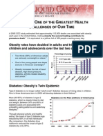 Sdtaxes Obesity Factsheet