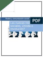 Redes y Comunicacion Social