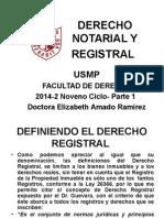 Derecho Notarial y Registral Usmp Parte 1 2014-2