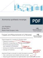 07 Ammonia Synthesis Revamps - March 2015