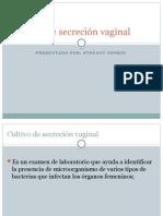 Cultivo de Secreción Vaginal