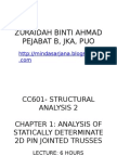 Chapter 1- Method of Joint