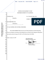 Netflix, Inc. v. Blockbuster, Inc. - Document No. 138