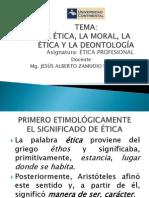 Separata 1 La Etica, La Moral y La Deontología