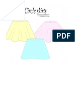 Trio of Circle Skirts