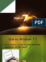 caracteristicas de windows7