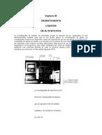 Cromatografía de Líquidos de Alta eficiencia