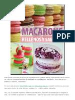 MACARONS_ Rellenos y Sabores