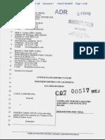 Shloss v. Joyce - Document No. 1