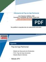 Valorizacion Empresas APV y CFP