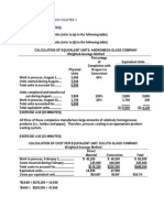 Hilton Ch 4 process costing and hybrid product-costing systems
