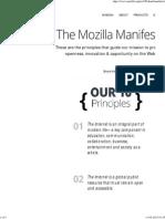 The Mozilla Manifesto