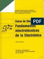 1.GTZ - ELECTRONICA I - Fundamnetos Electrotecnicos de La Electronica (Texto)