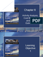 Chap006 Activity Analysis Cost Behavior and Cost Estimation