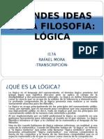 Grandes Ideas de La Filosofa Logica_transcipcion de Documental en Ingles