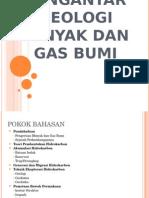 Pengantar Geologi Minyak Dan Gas Bumi