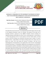 4. Joshi Hem KINEMATIC COMPARISON OF TWO DIFFERENT TECHNIQUES OF FRONT FLIP TUCK (FORWARD SOMERSAULT TUCK) ON FLOOR EXERCISE IN MEN'S ARTISTIC GYMNASTICSChandra