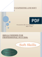 Domain Expertise and Soft Skills
