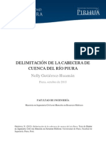 Delimitacion Cabecera Cuenca