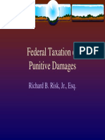 Federal Taxation of Punitive Damages