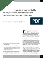 10-Reliability-based Sensitivity Analysis for Prestressed Concrete Girder Bridges
