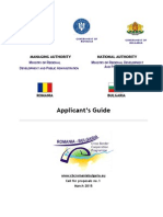Applicant's Guide Interreg V A