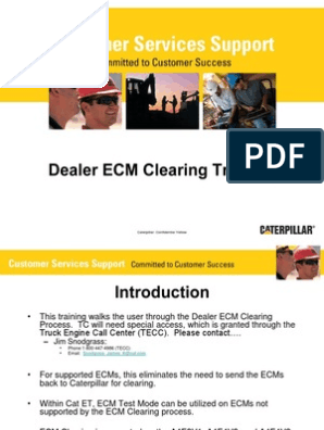Dealer ECM Clearing Training_Production | Password | Email