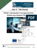 CTIA10 - Introduction à La Programmation Grafcet Sous Siemens TIA PORTAL