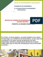 31032014 Competencia de Enfermeria Cancer Gastrico 2014