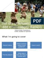 The Role of Schools in Career and Employability Learning