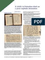 """DEFINITION DE """"PALESTINE"""" dans Le Larousse 1925"""