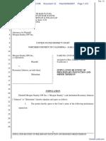 Morgan Stanley DW, Inc. v. Johnson - Document No. 12