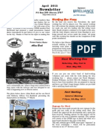 OTHR April 2015 Newsletter