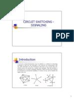 2A. Circuit Switching - Signaling