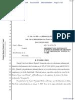 Shloss v. Sweeney et al - Document No. 57