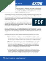 Consumer Warranty Document 11-14