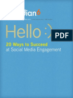 20 Ways to Social Media Engagement