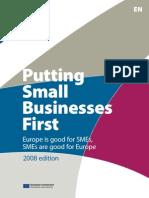 Brochure Putting Small Business First_en_2008