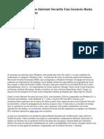 Avast Antivirus ocho Internet Security Con Licencia Hasta 2050 (Actualizacion)