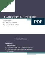 Ministère du Tourisme