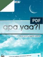 Apa Yaa by Dzyemtri Belum Selesai Post 2