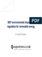 Gareth Davies_Impact and Regulation for Renewable Energy