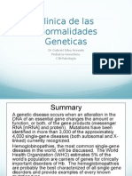 TRASTRORNOS GENETICOS
